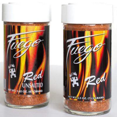 Southwestern Spices and Seasoning Fuego Red Alan Zeman Southwestern Originals
