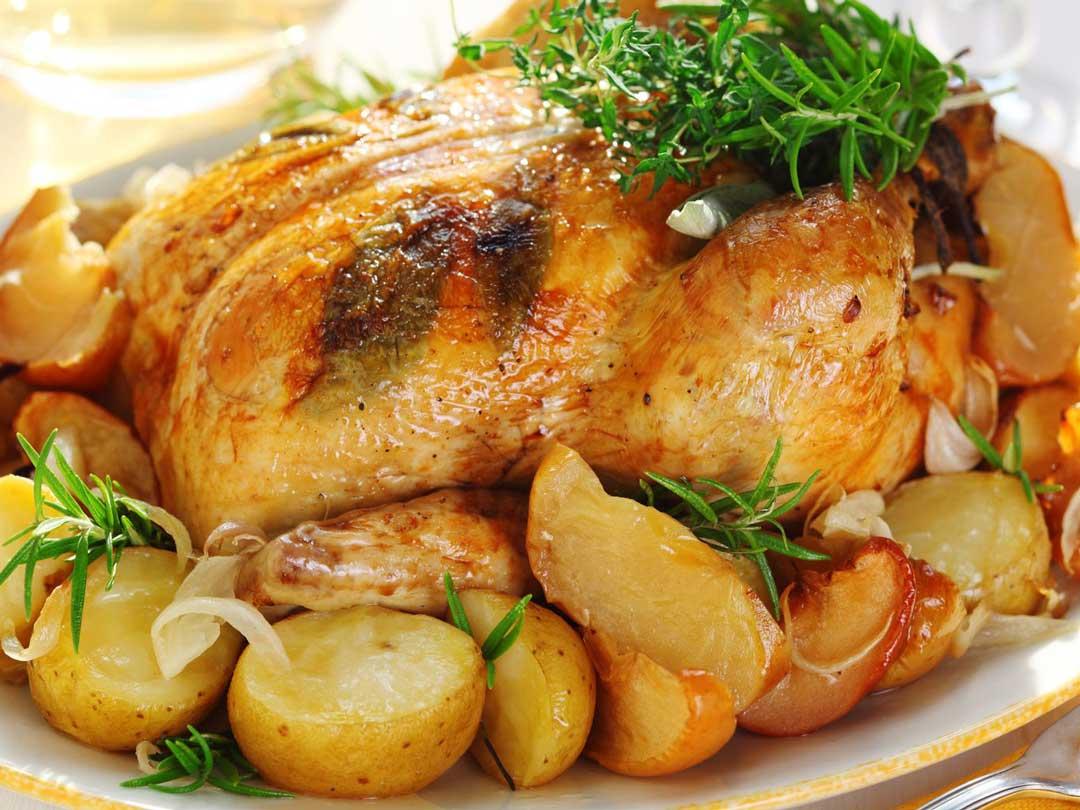 Southwestern Style Roast Chicken