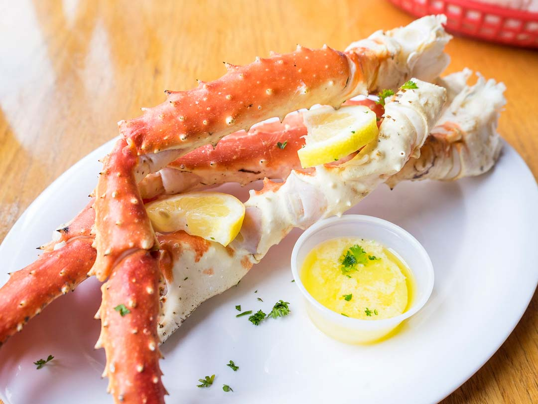 Southwestern Style Crab Legs