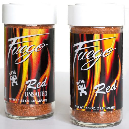 Southwestern Spices and Seasoning Fuego Red Alan Zeman Southwestern Originals