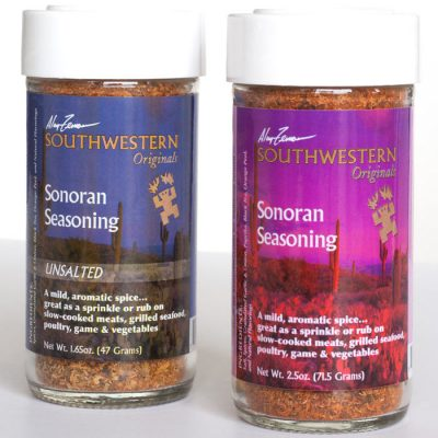 Southwestern Spices and Seasoning Sonoran Seasoning Alan Zeman Southwestern Originals